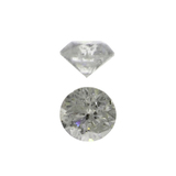 APP: 0.3k Fine Jewelry 0.14CT Round Brilliant Cut Diamond Gemstone