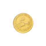 Extremely Rare  1858 Mexico Uncirculated 1 Peso Gold Coin - Great Investment