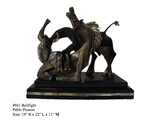 *Rare Limited Edition Numbered Bronze Picasso ''''Bullfight'''' 19'''' H x 22'''' L x 11'''' W -Grea