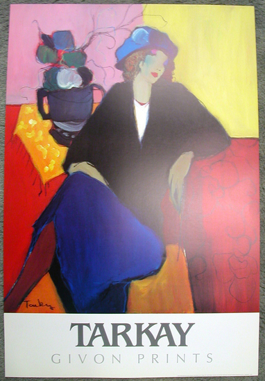 TARKAY (After) Suzanne Print, 36'' x 24''