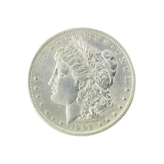 Extremely Rare 1902 U.S. Morgan Silver Dollar Coin