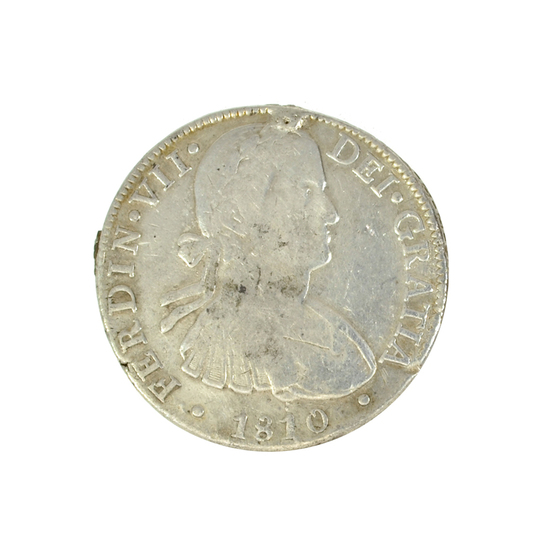 1810 Eight Reales America's First Silver Dollar Coin -Great Investment-