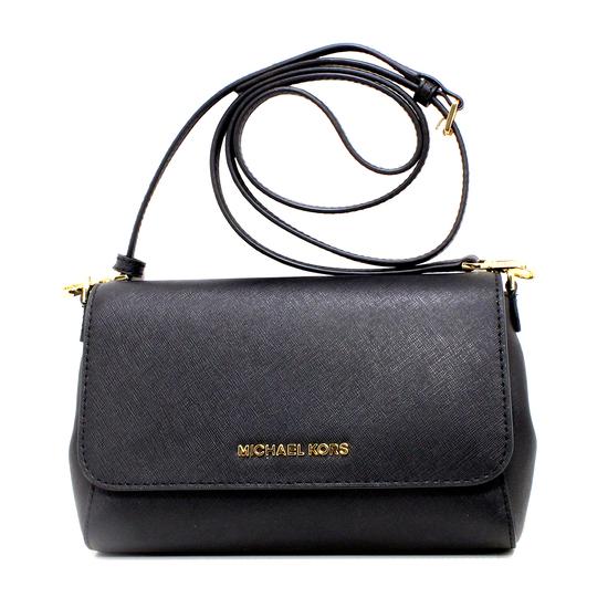 Gorgeous Brand New Never Used Black Michael Kors Medium Conv. CHN Pouchette Bag Tag Price $298