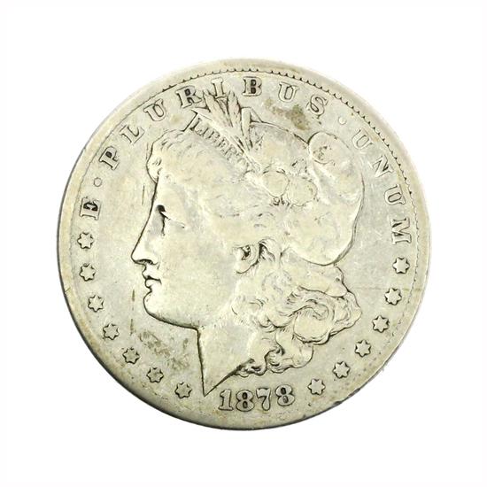 Rare 1878-CC Morgan Silver Dollar Coin