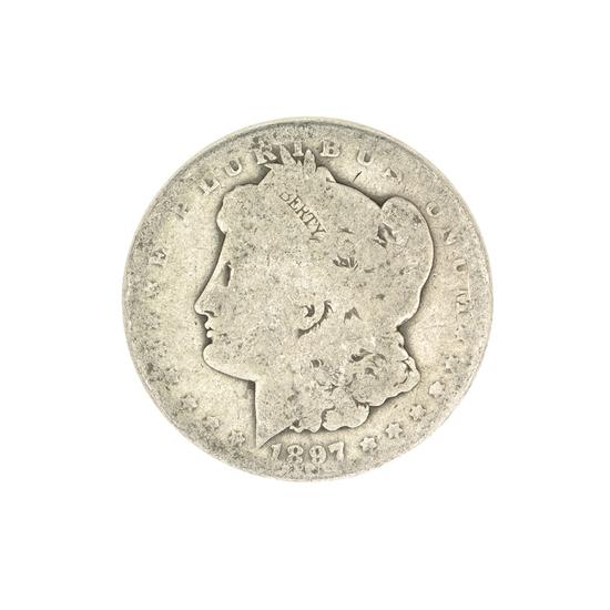 1897-O U.S. Morgan Silver Dollar Coin