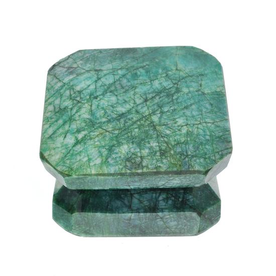 APP: 4.8k 1,903.45CT Rectangular Step Cut Green Beryl Emerald Gemstone
