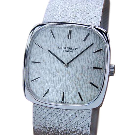 *Patek Philippe 18k Solid Gold Luxury Dress Watch Ref 3666 For Men Watch 1980 -P-