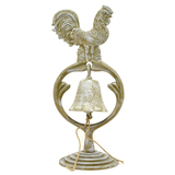 White Rooster Bell