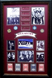 *Rare The Rat Pack Chips and Cards Museum Framed Collage 03 - Plate Signed