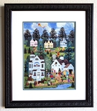 Wooster Scott - ''''The Country Auction'''' Framed Giclee Original Signature & Numbered Editon