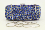 *Rare Exquisite Swarovski Crystal Element Handbag by Christal Couture - Sapphire Kisses - Great Inve