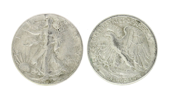 Rare 1946 Early Date U.S. Walking Liberty Half Dollar Coin - Great Investment -