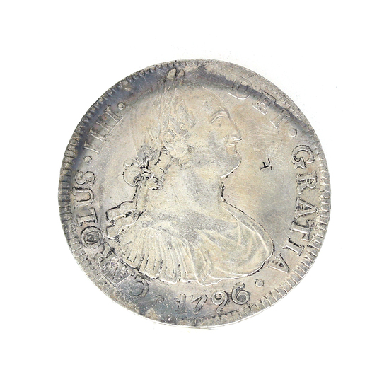 Extremely Rare 1798 Eight Reale American First Silver Dollar Coin Great Investment