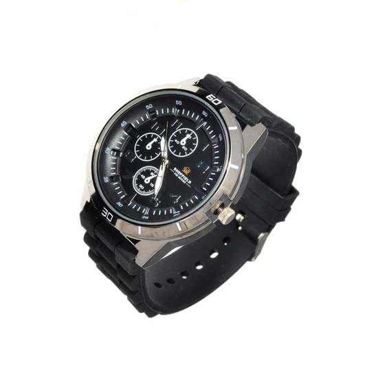 Sheffield Men's Sports Watch With Black Band