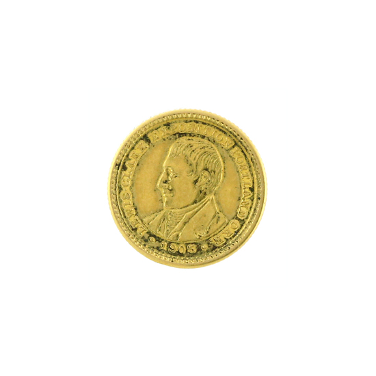 Rare 1905 $5 Louis & Clark Head Gold Coin Great Investment (DF)