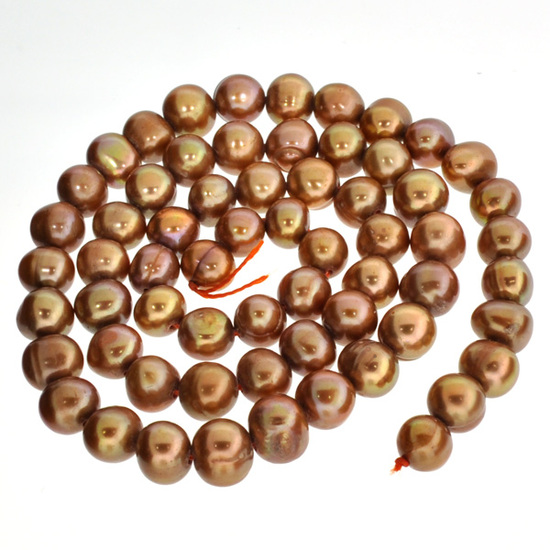 15'' Chocolate Pearl Strand
