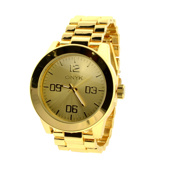New Onyk Stainless Steel Back, Water Resistant Watch