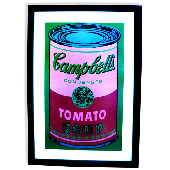 Andy Warhol (After) Museum Framed Print Campbell's Tomato Soup