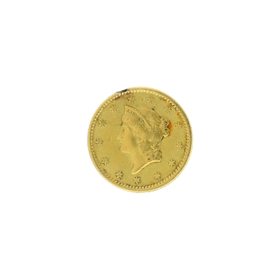 Rare 1853 $1 Gold Coin Great Investment