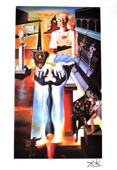 SALVADOR DALI Invisible Man Print, 259 of 500