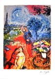 MARC CHAGALL (After) Serenade Print, I272 of 500
