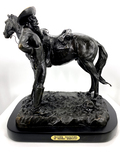 *Very Rare Large Trooper Thanatopis Bronze by Frederic Remington 20'' x 22'' - Great Investment