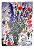 MARC CHAGALL Les Lupins Bleu Print, 143 of 500