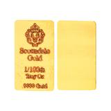 1/100 oz .999 Scottsdale Gold Bar Great Investment