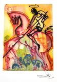SALVADOR DALI Saint George and The Dragon Print, 344 of 500