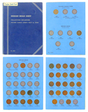 1857-1909 Indian Head Cent Collection Coin Set