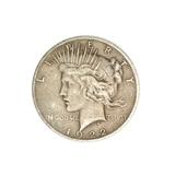 1922 U.S. Peace Type Silver Dollar Coin