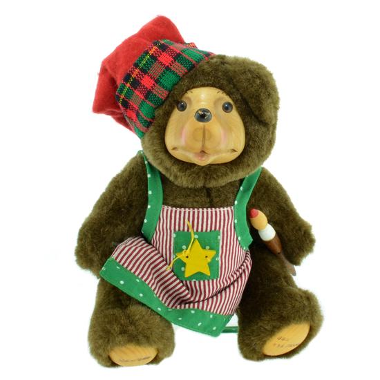 Robert Raikes Christmas Craftsmen Bear Holiday Decoration