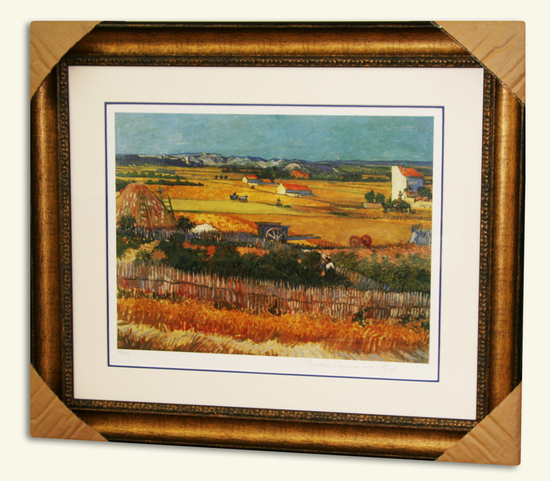 Van Gogh (After) -Limited Edition Museum Framed Print 02 -Numbered