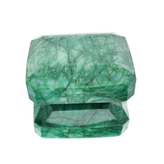APP: 5.4k 2,168.74CT Rectangular Step Cut Green Beryl Emerald Gemstone