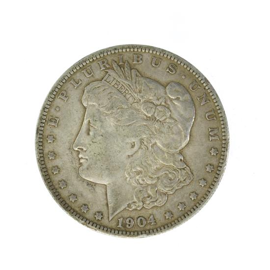1904-O Silver Morgan Dollar Coin