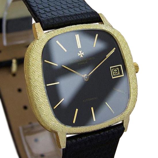 *Vacheron & Constantin 18k Gold Swiss Made Mens 1980s Automatic Watch -P-