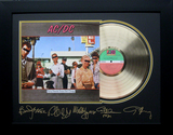 *Rare ACDC Dirty Deeds Done Dirt Cheap Album Cover and Gold Record Museum Framed Collage - Plate Sig