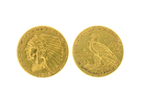 Rare 1915 $2.50 Indian Head Gold Coin - Great Investment -