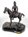 *Very Rare Large Vigil Bronze by Frederic Remington 21'''' x 18'''' - Great Investment - (SKU-AS)
