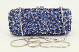 *Rare Exquisite Swarovski Crystal Element Handbag by Christal Couture - Sapphire Kisses - Great Inve