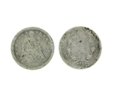 Very Rare XXXX Liberty Seated Type Half Dime Coin