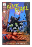 Very Rare Original Autograph By Mark Hamill From Star Wars Black Pearl Comic Book