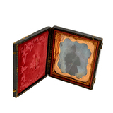 ^Civil War Soldier Ambrotype Glass Picture
