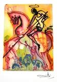 SALVADOR DALI Saint George and The Dragon Print, 332 of 500