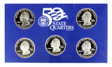 2005 United States Mint 50 State Quarters Proof Set Coin