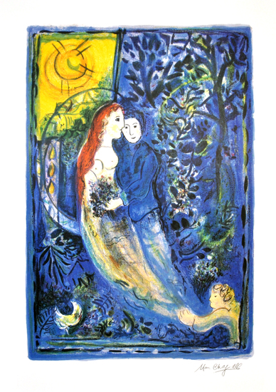MARC CHAGALL (After) The Wedding Print, I317 of 500