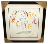 Pablo Picasso (After) 'Le Ronde' Museum Framed & Matted Print