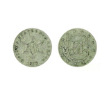 Very Rare Early 1853 Silver Three Cent Piece Coin -Great Investment-