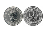 2020 British Silver Britannia BU Uncirculated Great Investment Queen Elizabeth Coin