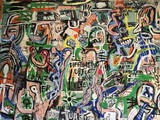 *Outstanding Artist Signed Gino Perez 36x44 Giclees ''''Culture'''' Great Investment. Very Well Know